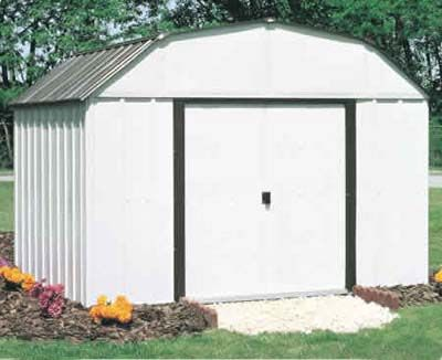 Concord 10 W X 14 D Arrow Metal Backyard Storage Shed Kit Metal Storage Sheds Backyard Storage Sheds Backyard Storage