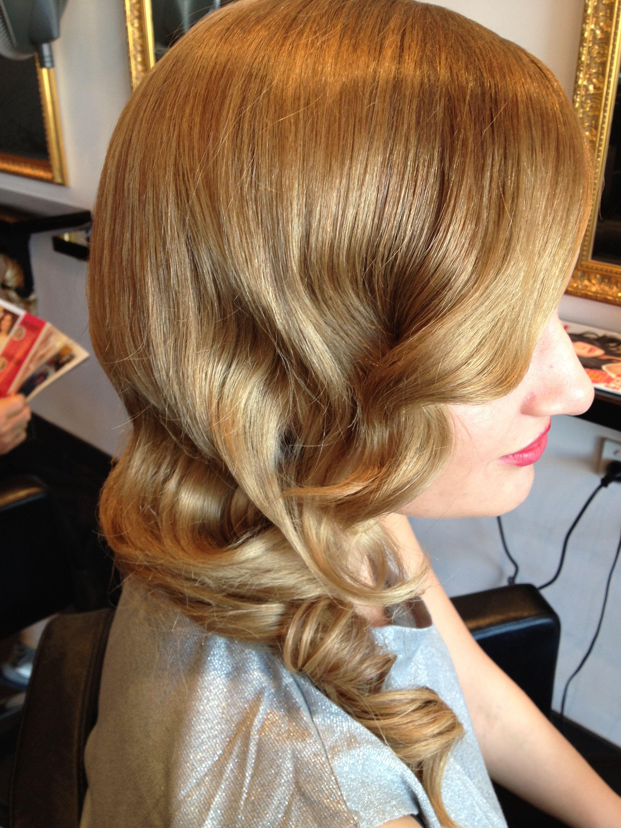 Soft vintage wave! | Vintage hairstyles, Hair styles, Vintage waves