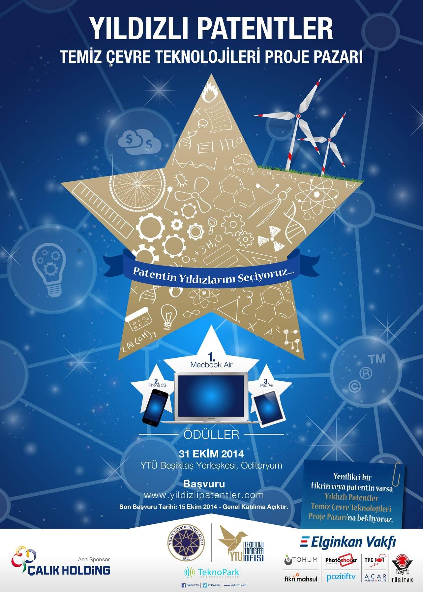 Yıldızlı Patentler 31 Ekim 2014