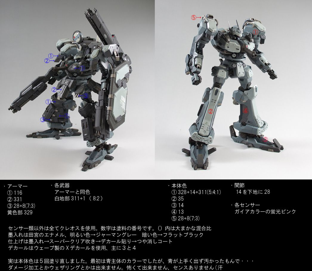 2724 Now THATs an ARMORED Core: Black Rain