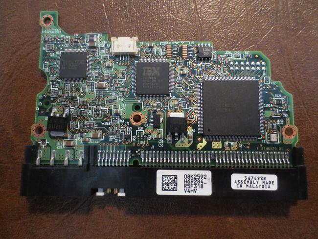 Hitachi IC35L060AVV207-0 MLC:H69404 PN:13G0222 (08K2592 H69284_) 60GB IDE/ATA PCB - Effective Electronics