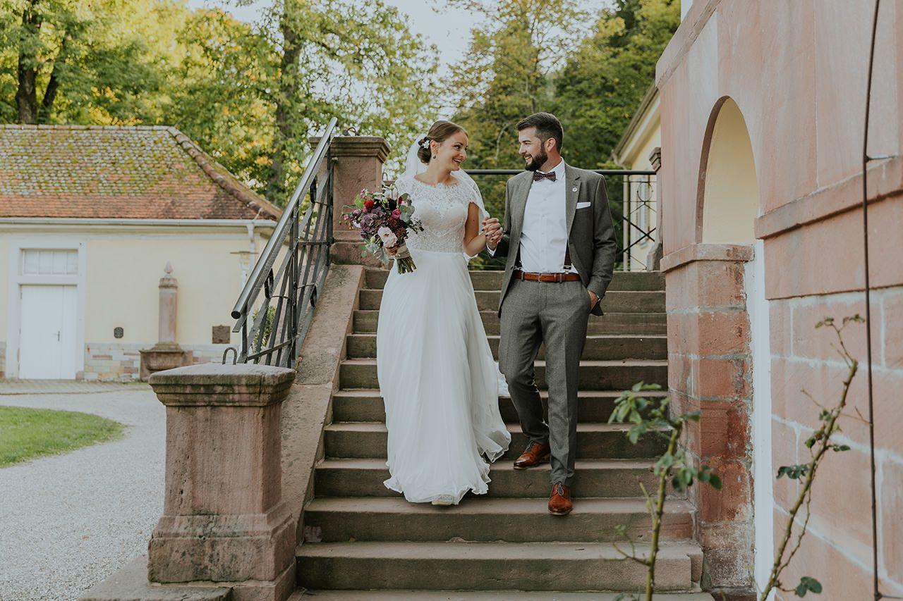 Lena Und David Hochzeit Schloss Herbsthochzeit Hochzeit