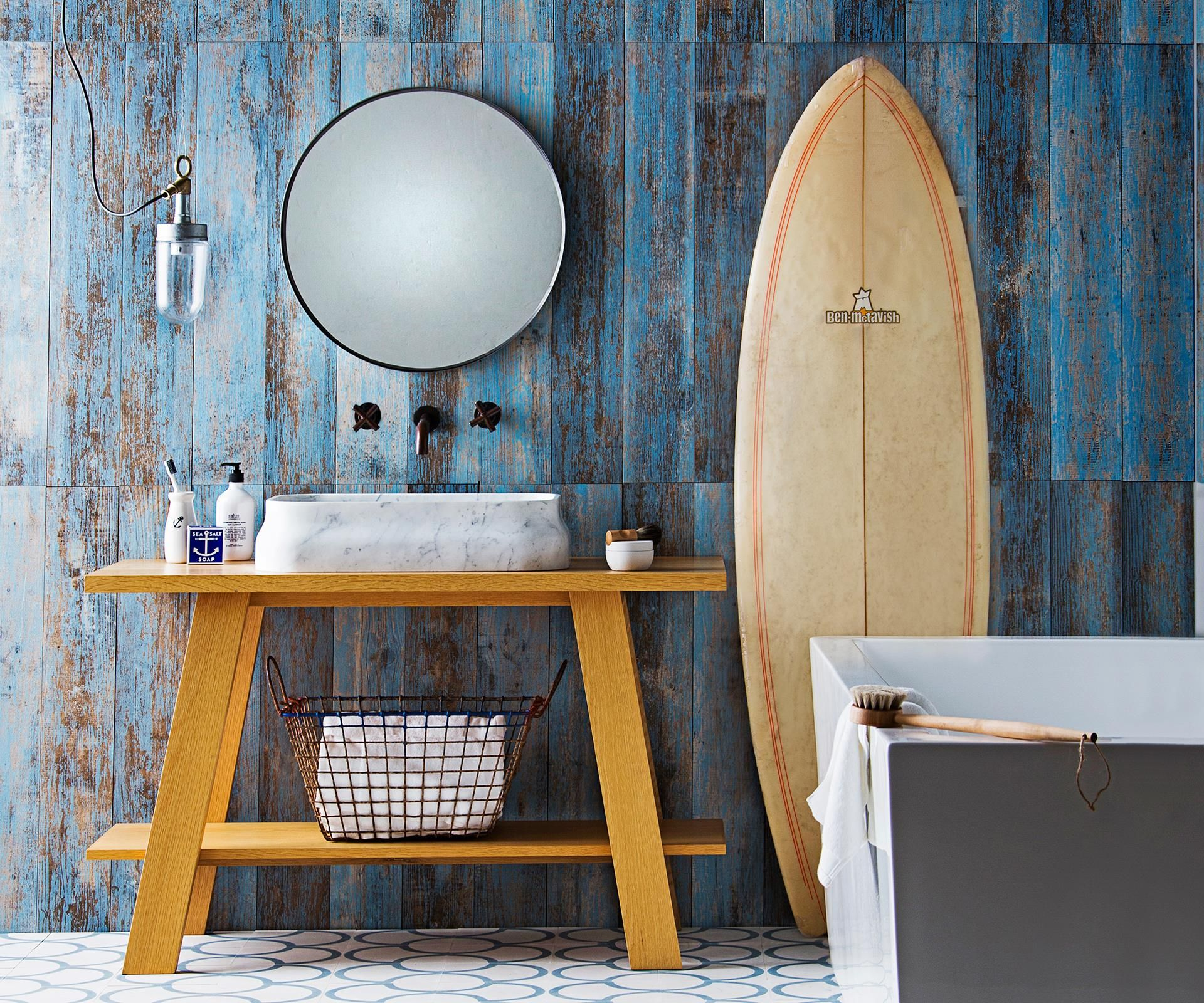 Beautify the bathroom with a bold new look. Be inspired by three trendy bathroom styling designs packed with creative ideas and divine buys.