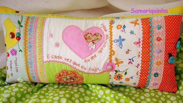 Mais um travesseiro... by Fotos de Samariquinha- Micheline Matos, via Flickr