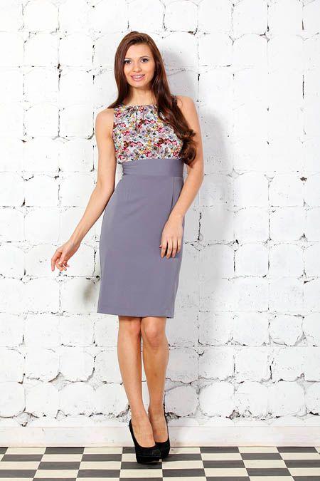 0335d1df8f5 Комбинированные платья - любимый фасон современных дизайнеров
