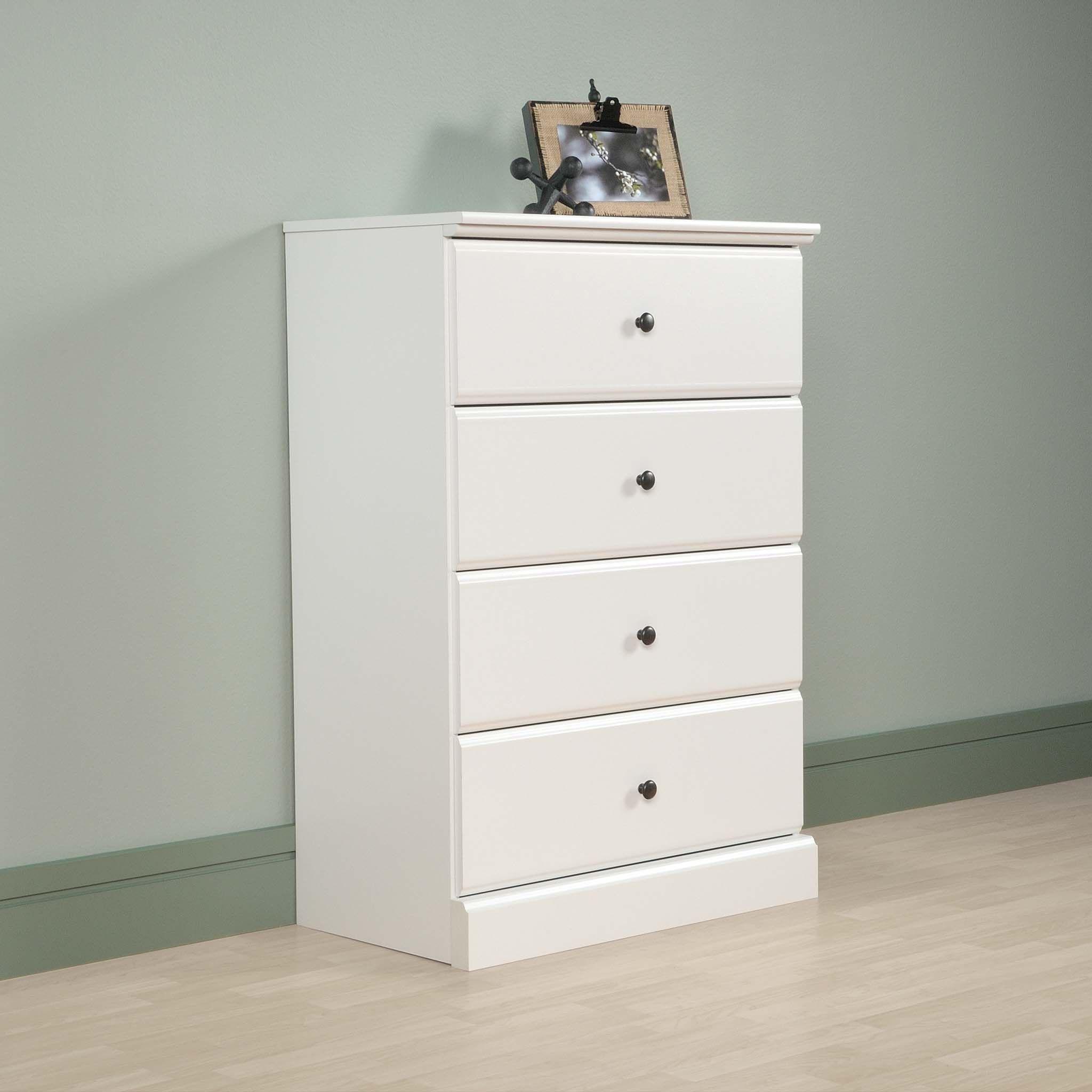 Sauder Parklane Transitional 4 Drawer Chest Soft White Finish Walmart Com Chest Of Drawers Bedroom Dressers Drawers [ 2048 x 2048 Pixel ]