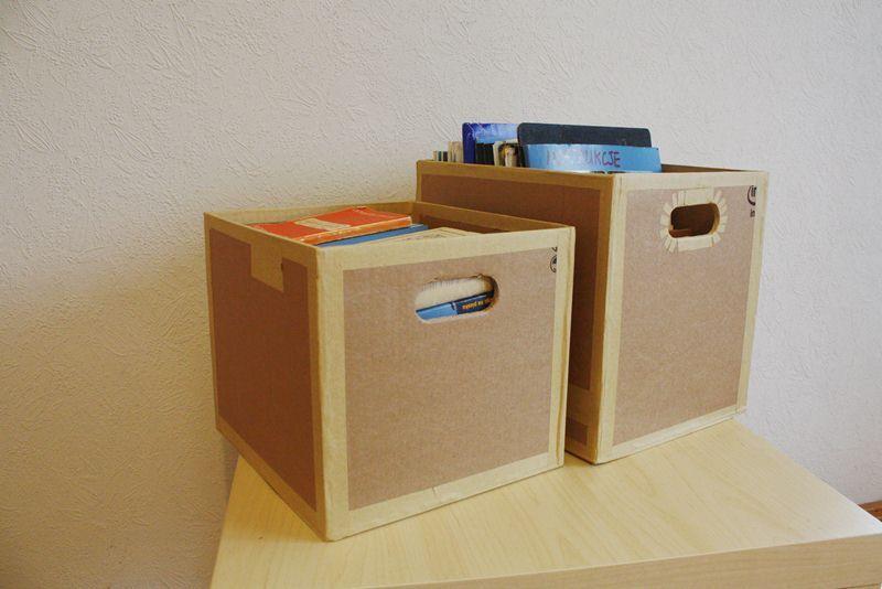 Zrobione Z Kartonu Decor Storage Home Decor