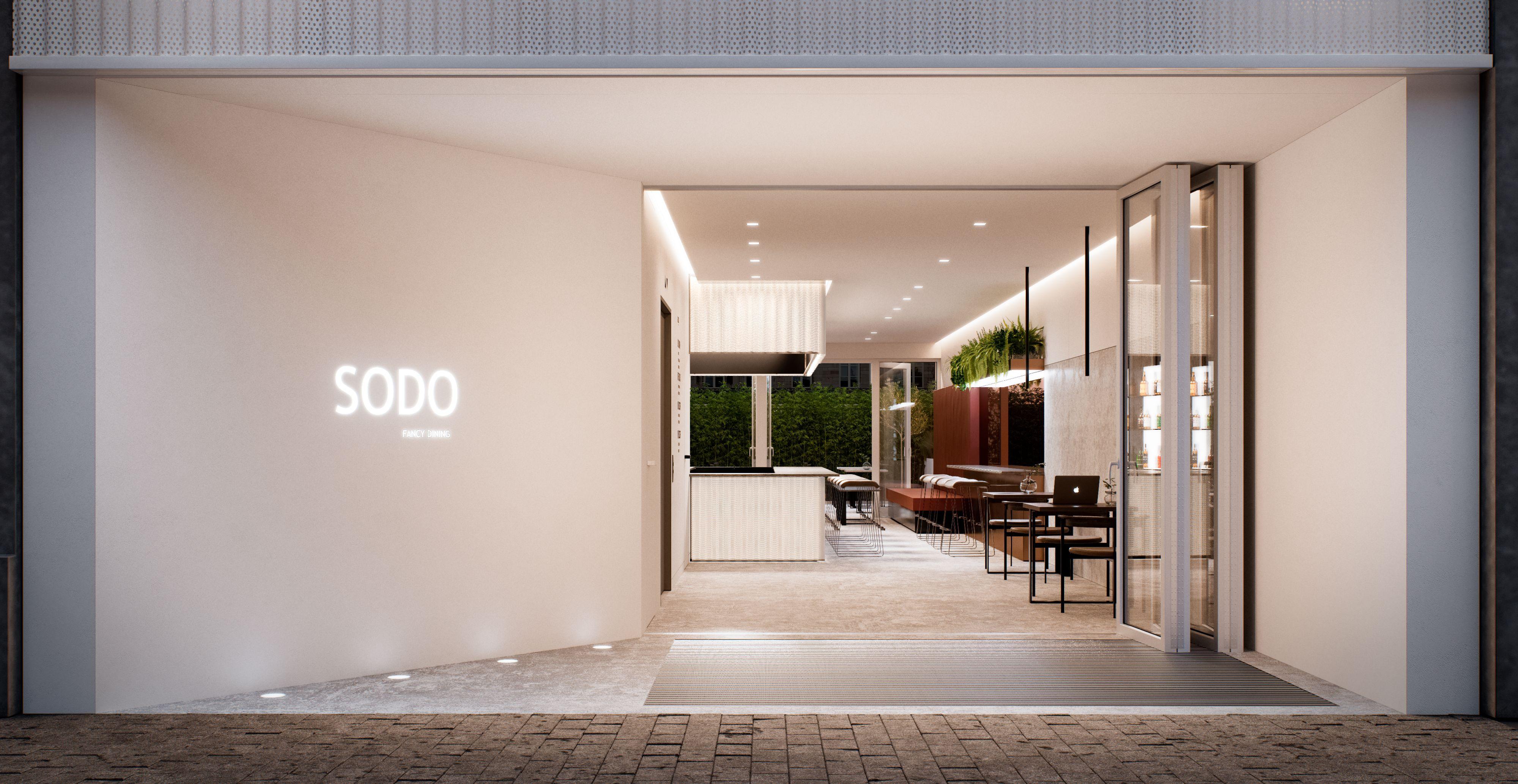 CITY MODULE #citymodule #restaurant #architecture #minimalistic ...