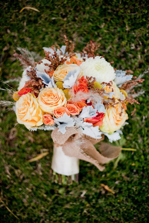 Love love love this fall bouquet! Photography by elysehall.com, Event Planning & Design by eventologyevents.blogspot.com, Floral Design by aspenreneestudios.com