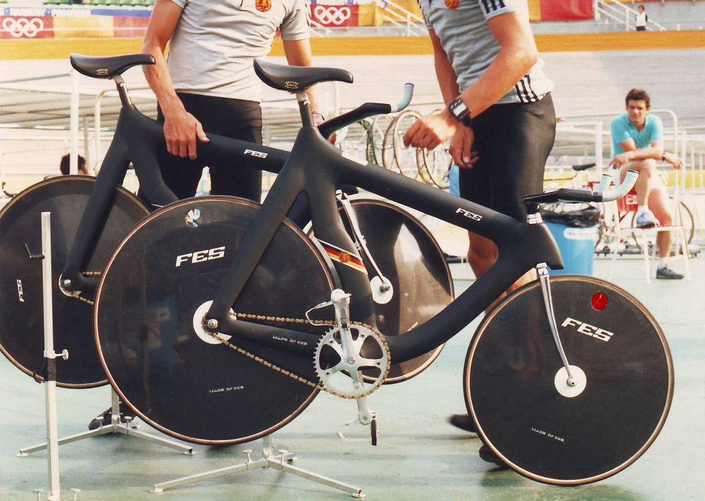 East German FES Track Bikes, Seoul Olympic Games 1988