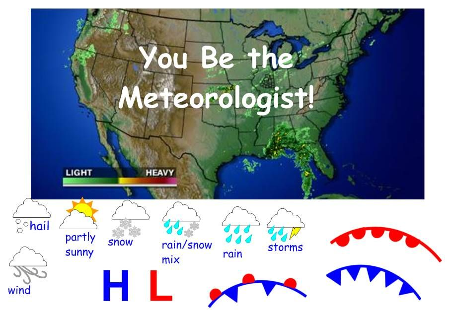 Interactive Weather Map Interactive Weather Map Weather Science