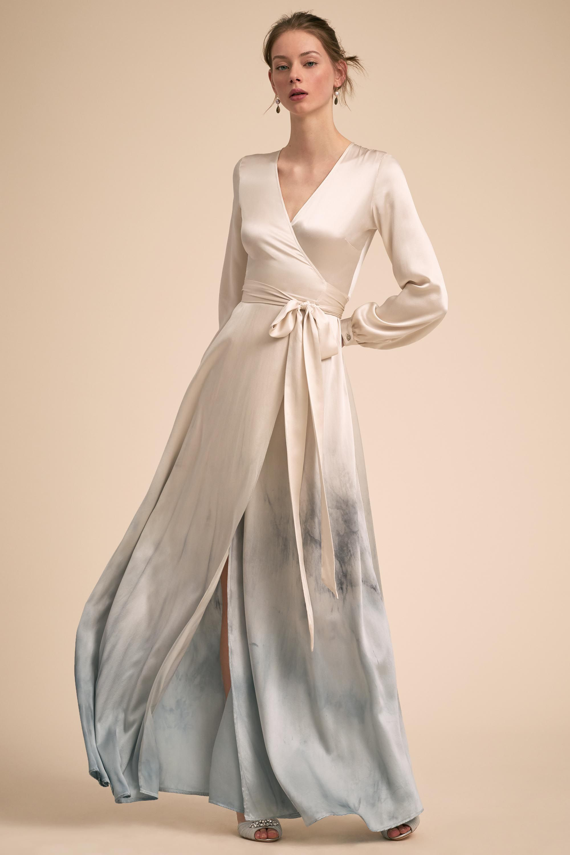 Madrigal gown by kamperett from bhldn gorgeous ivory silk gives