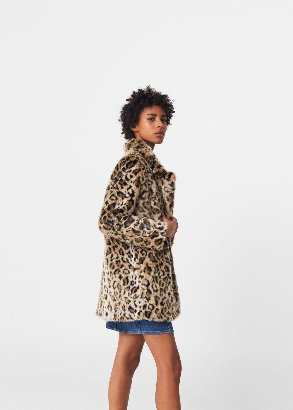 Mis Mujer Outlet Pelo España Abrigo Cosas Leopardo Pinterest q1Xwv