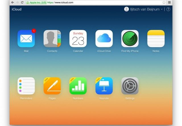 Apple gives iWork apps and iLife apps for free Icloud