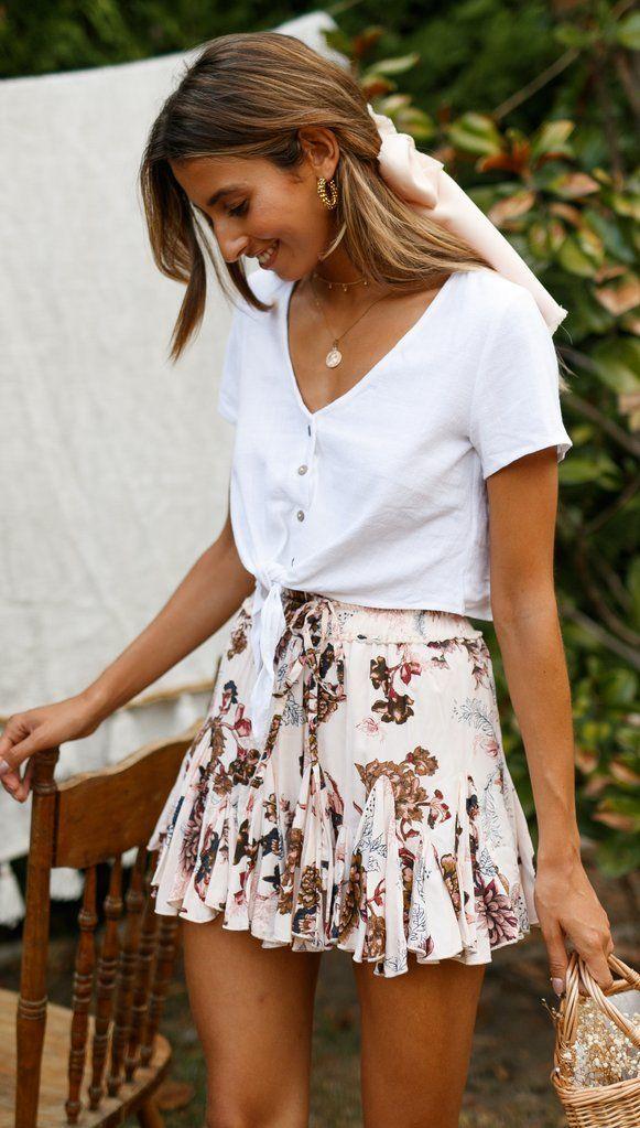 Romeo Mini Skirt   Mura Shop is part of Summer trends outfits - Romeo Mini Skirt  Mura Shop