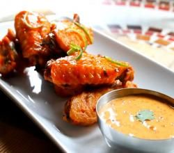 Crispy Fried Chicken Wings with Chipotle Adobo Aioli Recipe Video by StevesCooking | ifood.tv