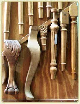 Patas reina ana chippendale franc s luis xvi muebles - Patas torneadas de madera ...