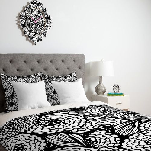 Deny Designs Julia Da Rocha Bouquet Of Flowers Love Duvet Cover Collection Chevron Duvet Covers Duvet Covers Bedding Sets