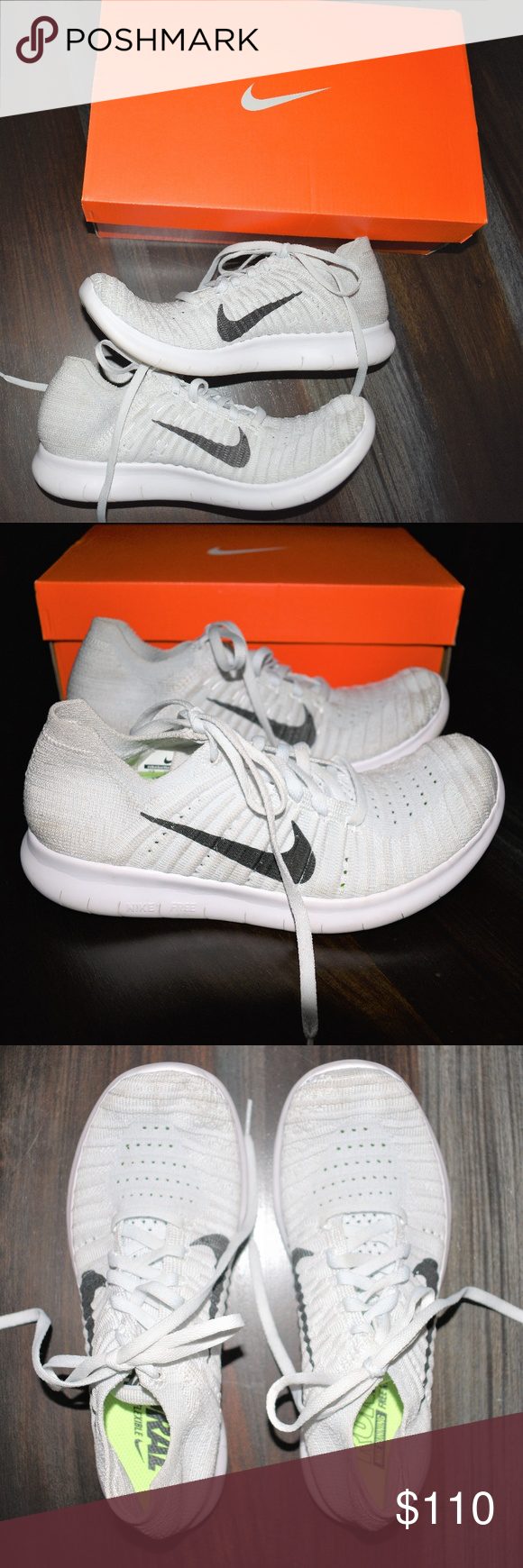 official photos 7231a fae1a Nike Shoes Womens Nike free rn flyknit tennishoes Size 7 Euro size 38  Preowned Rare version