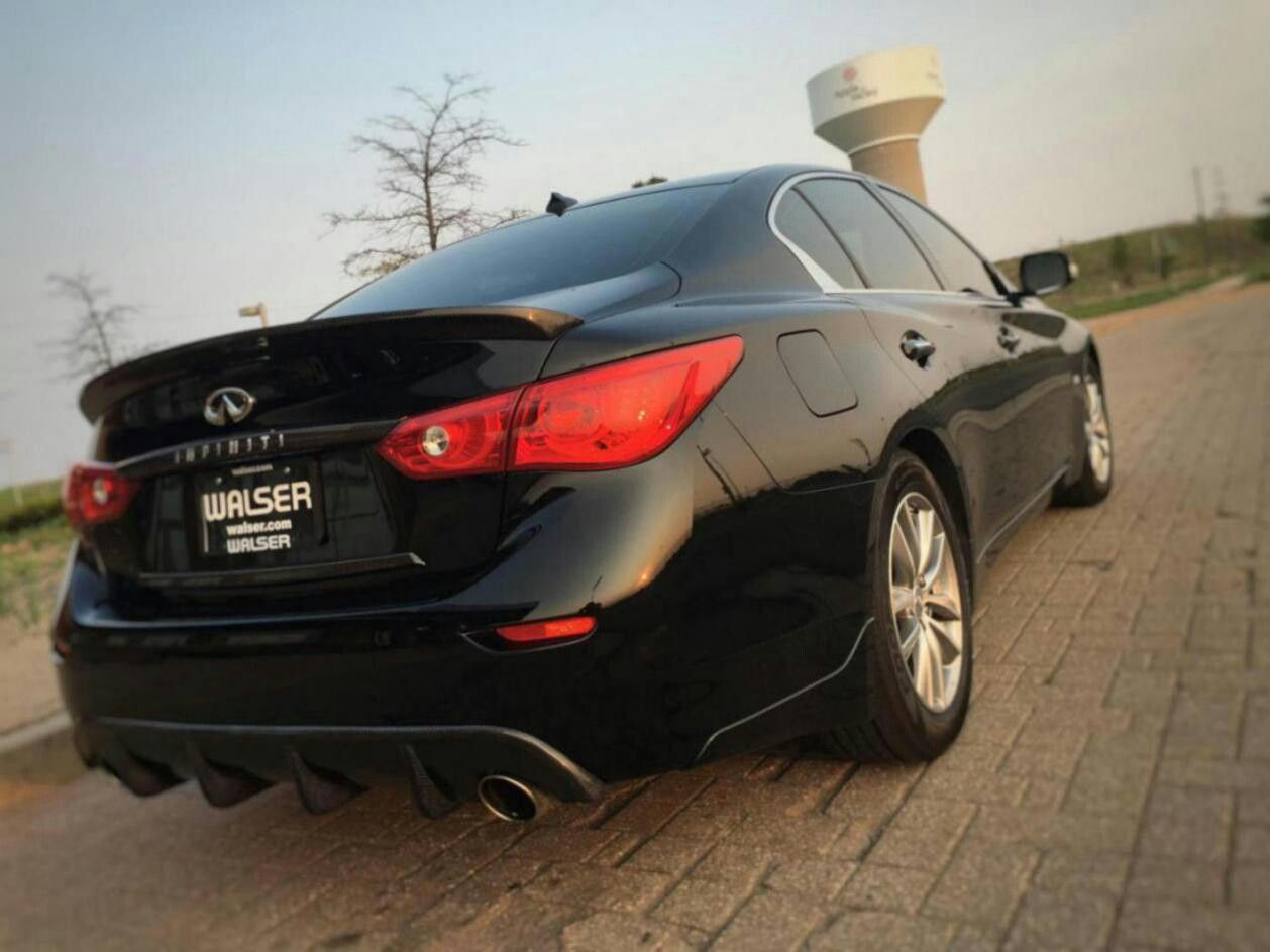 Black Obsidian Q50 Black obsidian, Q50, Sports car