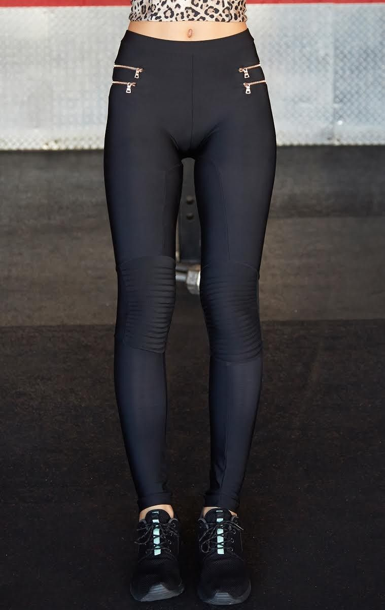 zipper moto leggings by Blue Life  0fcb9d8af4c