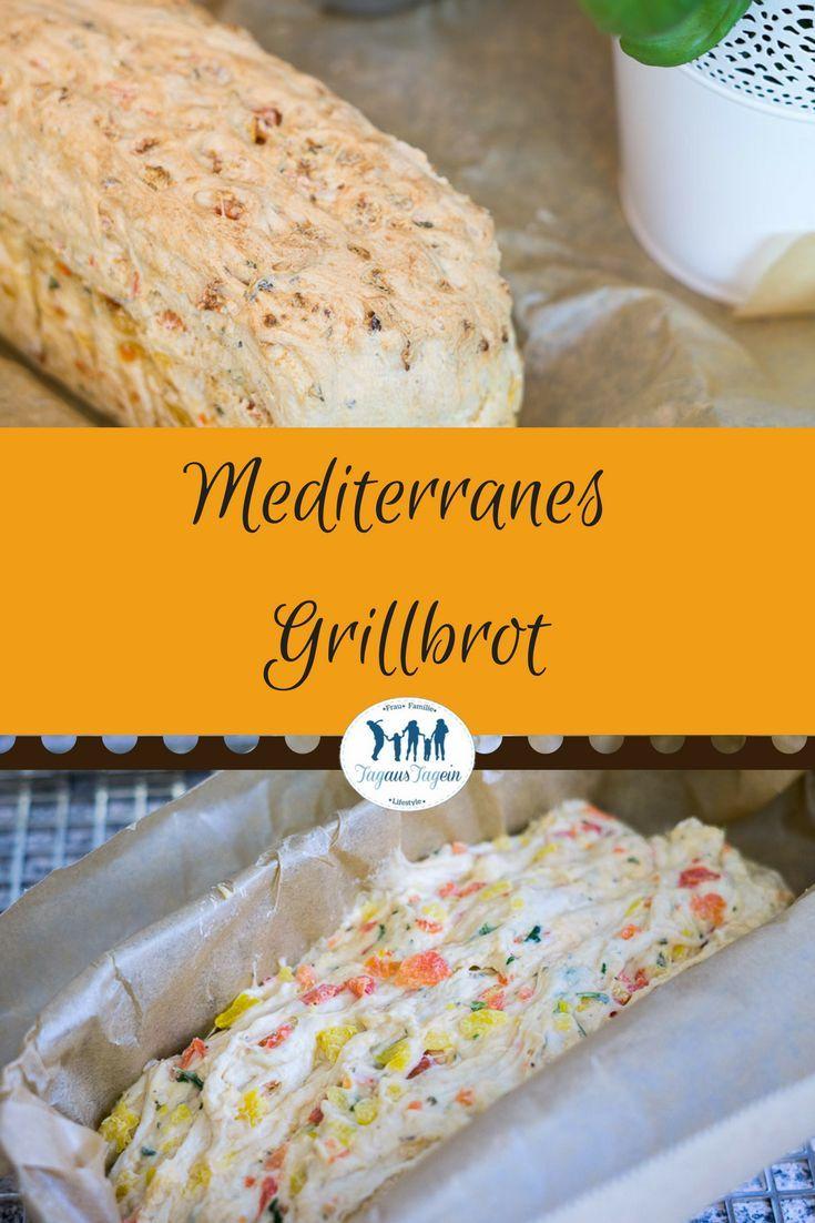 Mediterranes Grillbrot selber machen    Thermomix Rezept September 2020