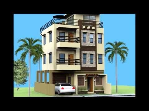 Small 3 Storey House With Roofdeck Youtube Beach Homes