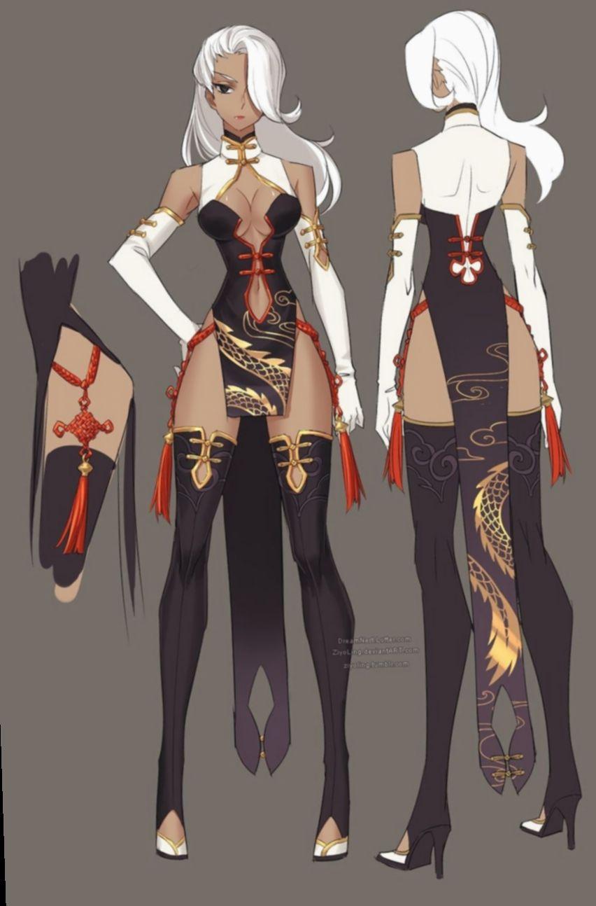 Anime Girl Fantasy Outfits : anime, fantasy, outfits, Anime, Outfits, Fantasy, Female, Outfits,, Clothing,, Character