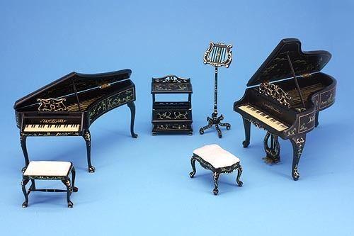 Dolls House Furniture Music Room Jiayi 102