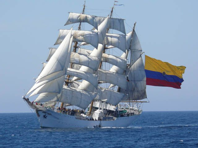 ARC Gloria - Photo by the Colombian Embassy