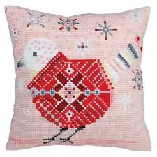 Collection D/'Art Cross Stitch Cushion Kit Friends CD5110
