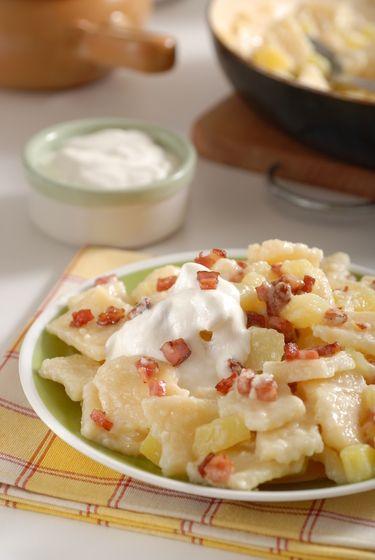 Trhance so zemiakmi a s bryndzou