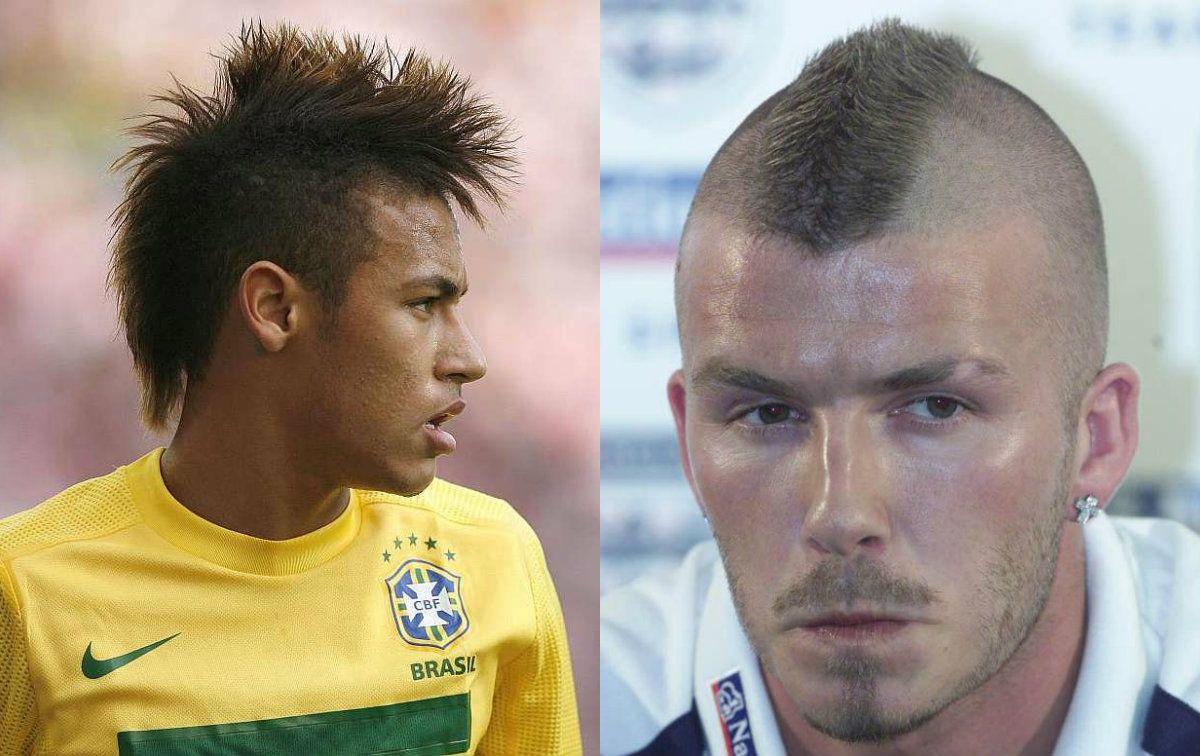 Footballers Mohawk Hairstyles Mens Hairstyles Pinterest Hair