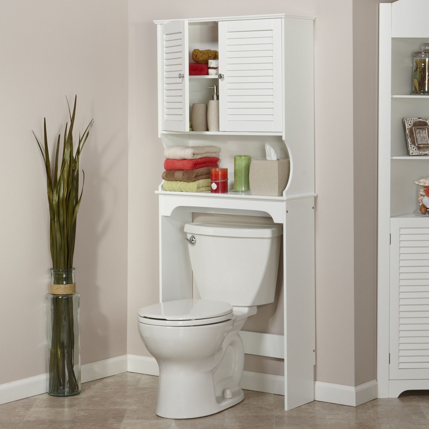Cozy Lowes Tile Flooring With White Baseboard And Bathroom Etagere Toto Toilet For Modern Design Plus Small Also