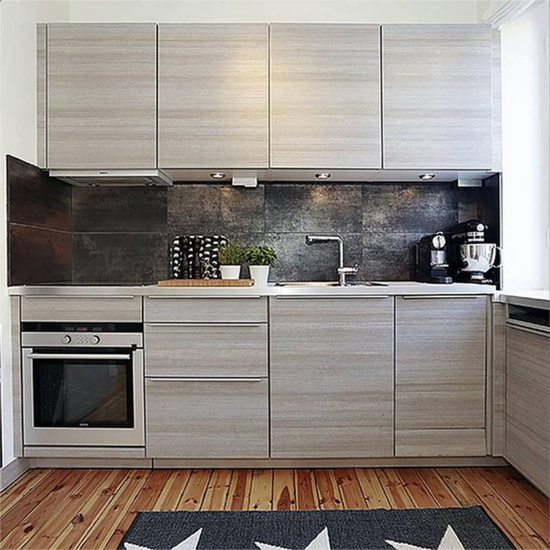 Amazing Colour Combination In This Custom Made Poggenpohl Kitchen In Teak  Decor With A Contrasting Backsplash