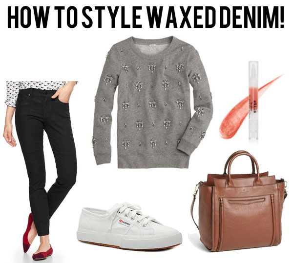 jillgg's good life (for less) | a style blog: reader question: how to stye waxed denim! (3 ways!)