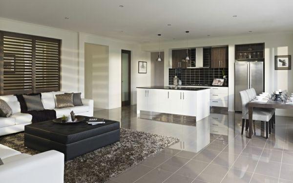 Einrichtungsideen kleine wohnküche  Bildergebnis für grundriss doppelhaushälfte küche | Einrichten ...