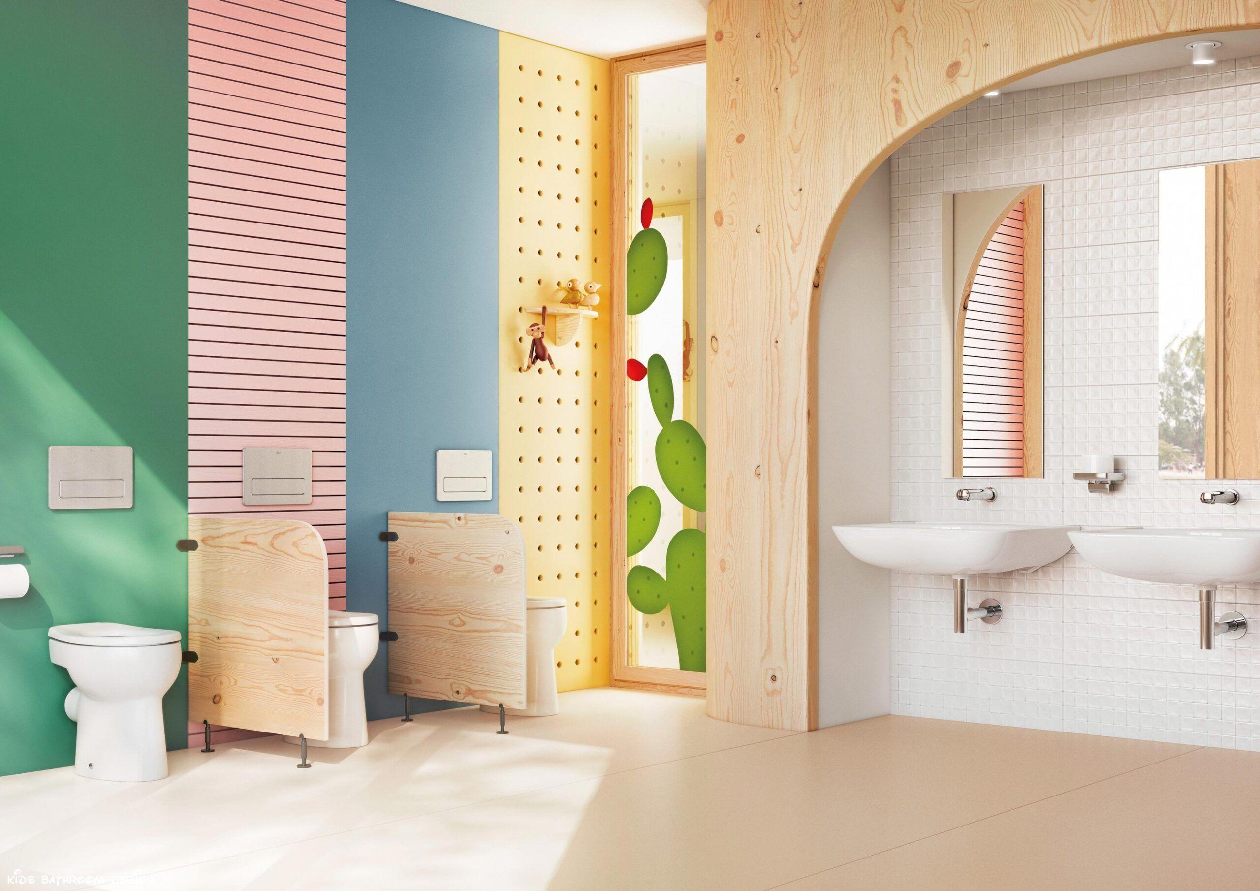 187 Gorgeous Kids Bathroom Design In 2020 Brown Bathroom Decor Bathroom Design Bathroom Redecorating Bathroom design for kids