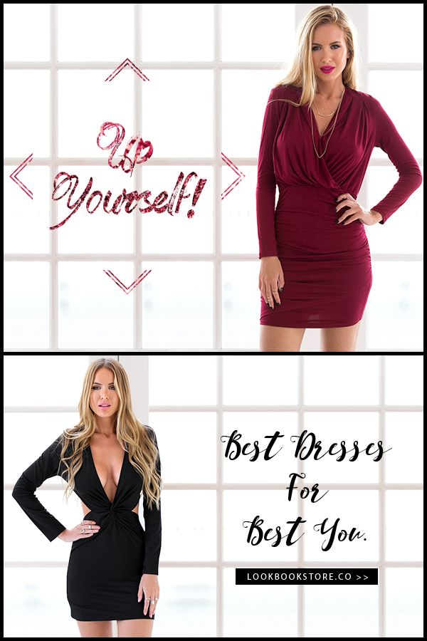 What's Up // Best dresses for the best you. Browse them here http://www.lookbookstore.co/collections/dresses