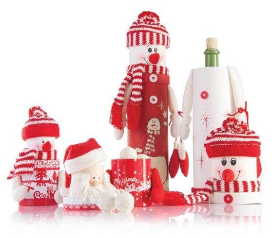 Lustige Geschenkbox in verschiedenen Designs als kreative Verpackung Ihrer Weihnachtsgeschenke.
