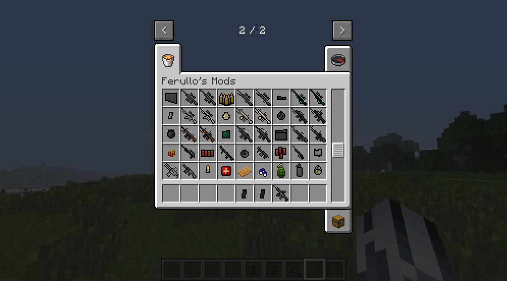 1 6 4 Ferullo S Guns Mod 2 9 2 Minecraft Mod Minecraft Minecraft Mods Guns