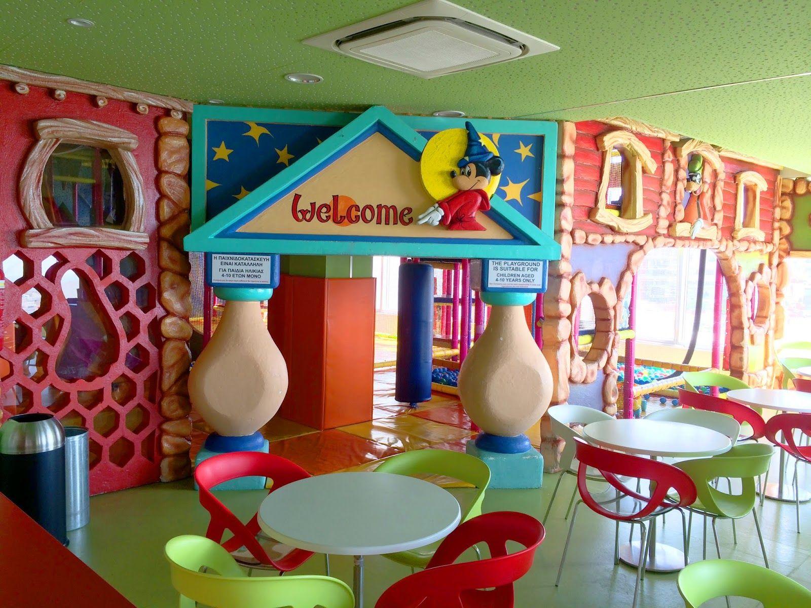 indoor playground for children, luna park limassol for kids