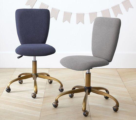 Square Upholstered Desk Chair Brass Base Benji Furniture Upholstered Desk Chair Chair