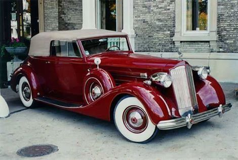 1937 Packard Victoria 1507 Convertible