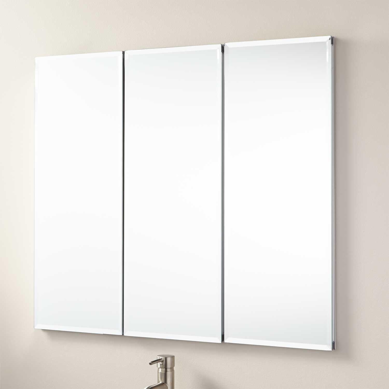 77 Three Door Mirrored Medicine Cabinet Kitchen Floor Vinyl Ideas