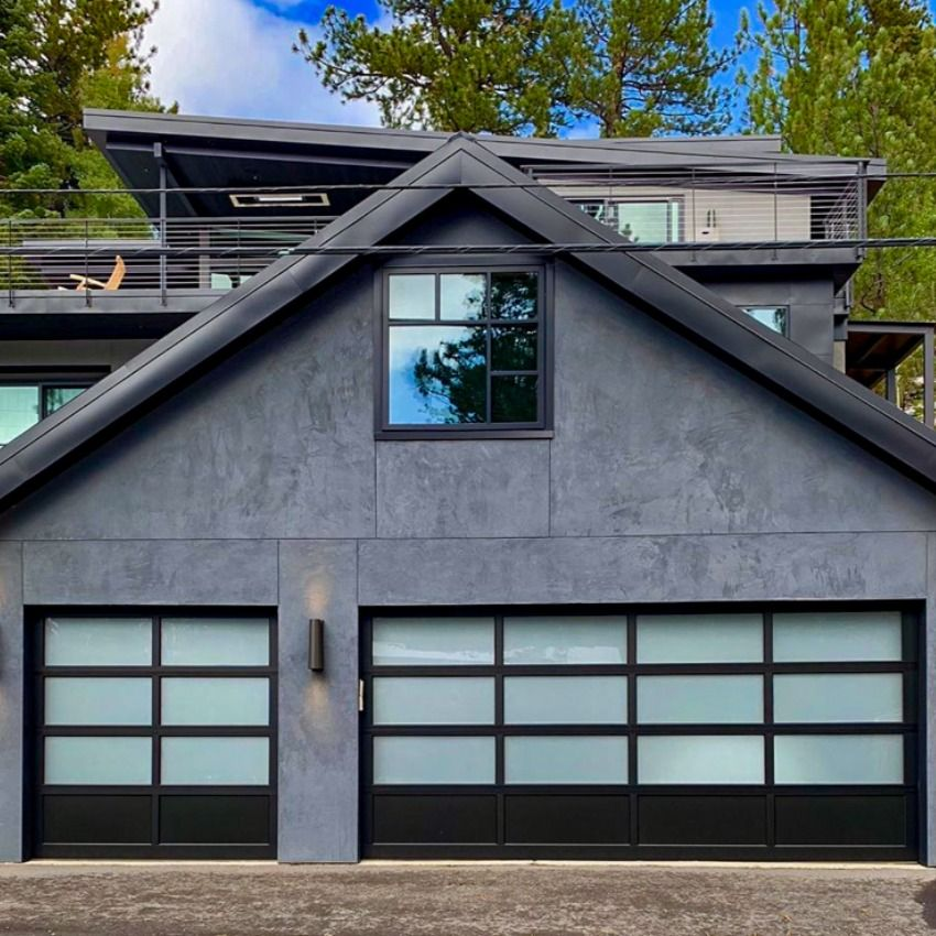 Full View Aluminum Garage Doors By C H I Overhead Doors Garage