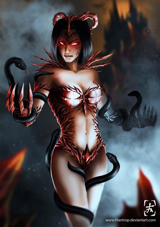 horny demon girl