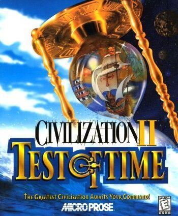 CIVILIZATION II TEST OF TIME +1Clk Windows 10 8 7 Vista XP Install