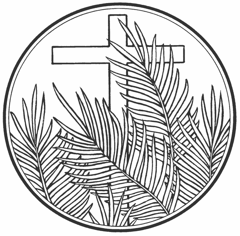 Palm sunday drawings resurection sunday pinterest for Palm sunday coloring pages