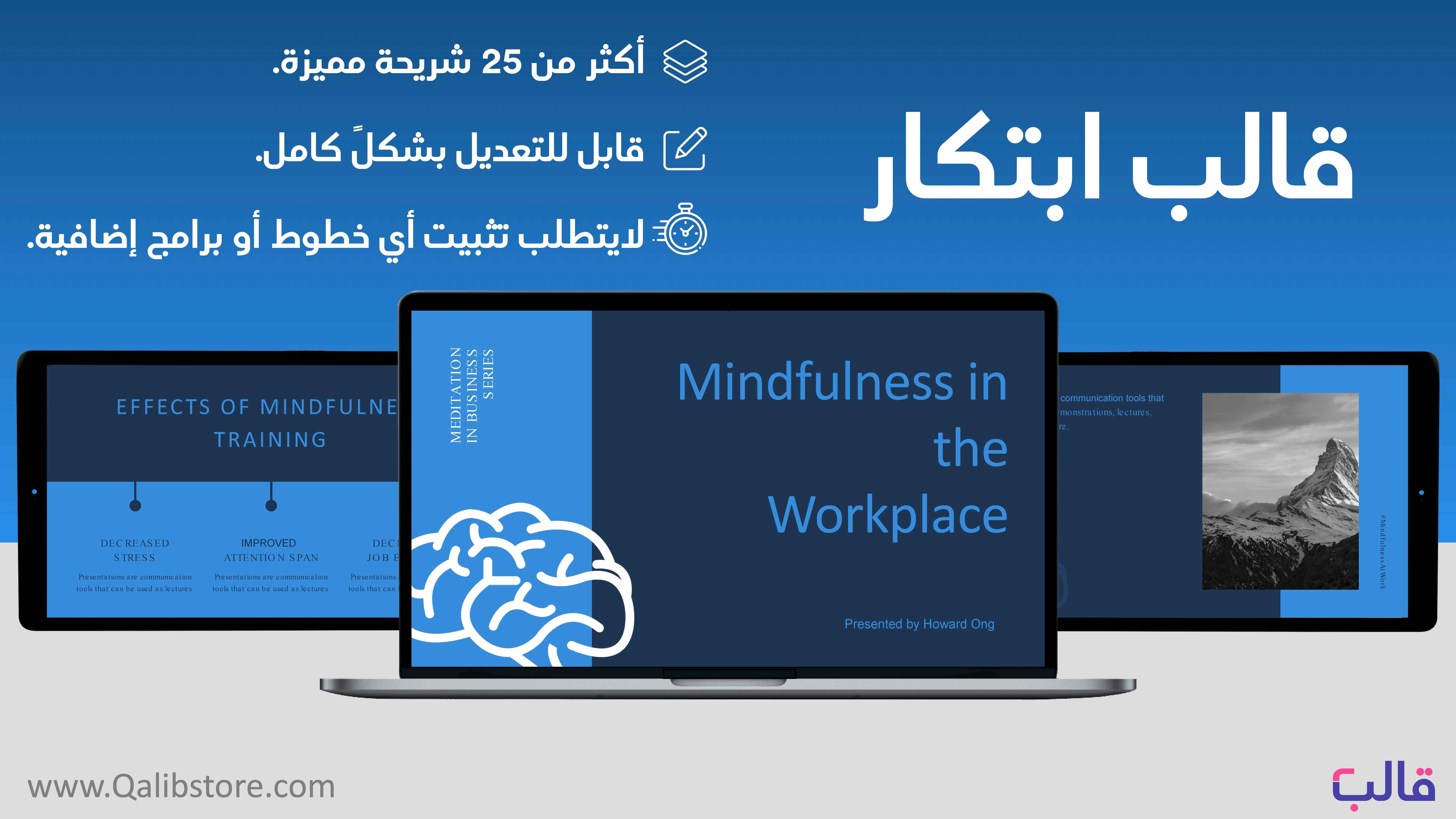 عرض بوربوينت انجليزي ابتكاري مميز للاعمال In 2020 Workplace Mindfulness Train